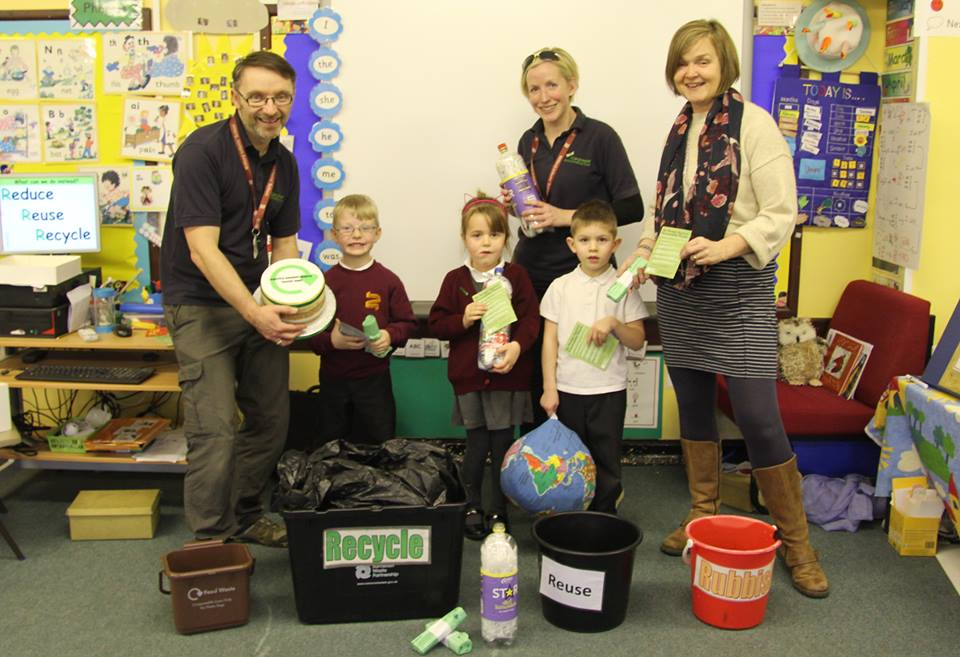 100th Visit for Schools Against Waste